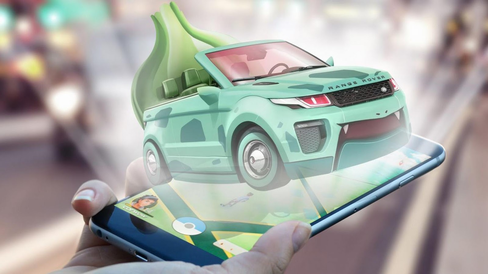 Bulbasaur – Land Rover Evoque Convertible