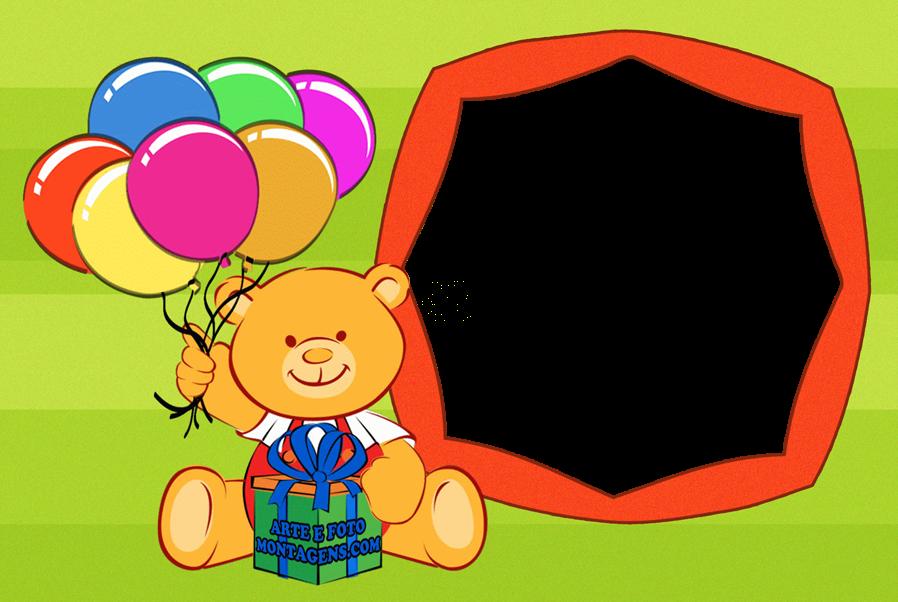 aniversario-ursinho-baloes-presente