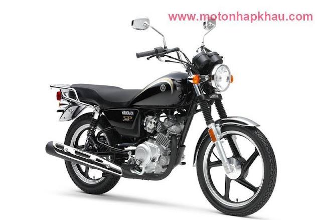 Yamaha YB125SP Đen