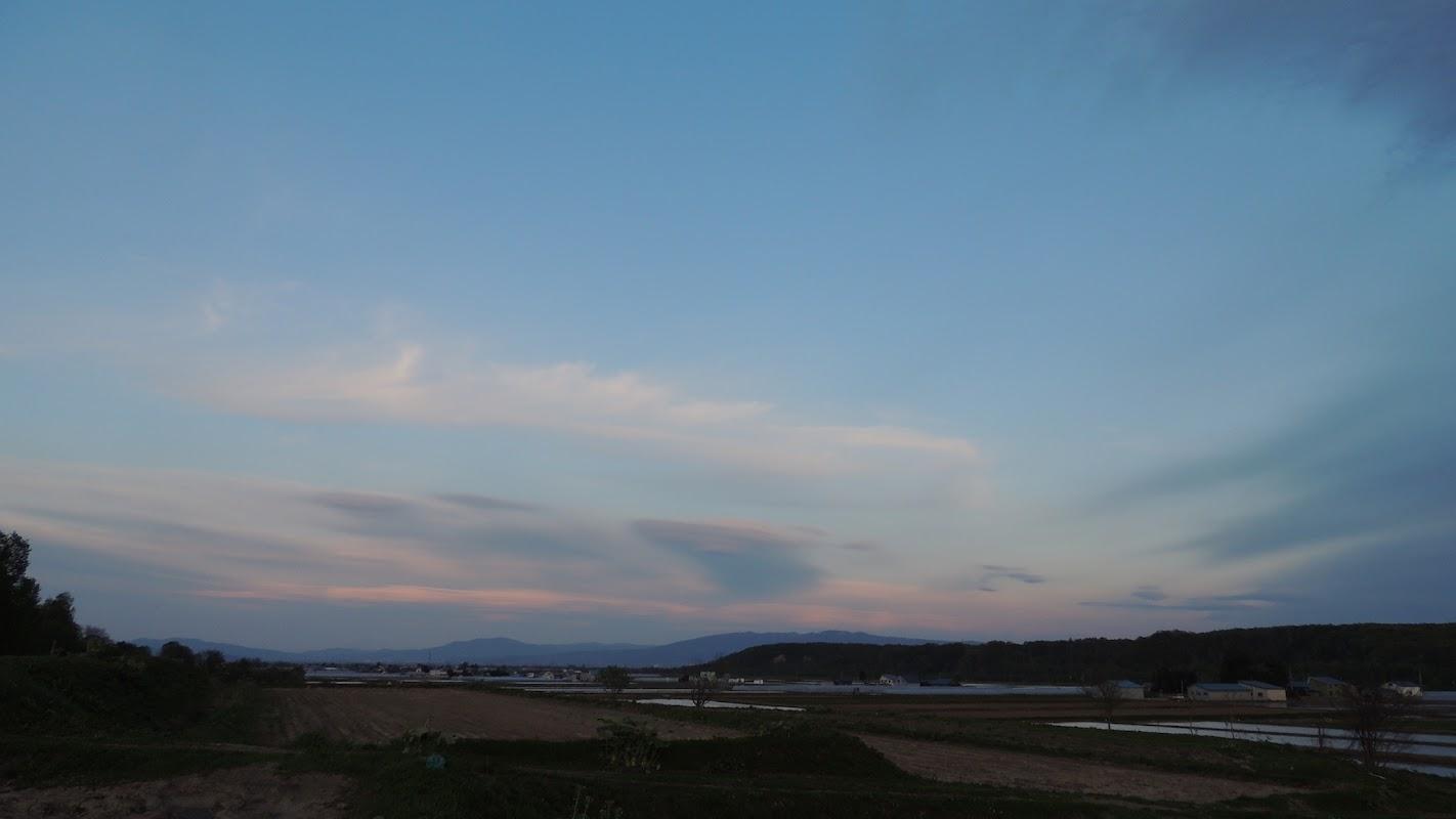 夕方の空(3)