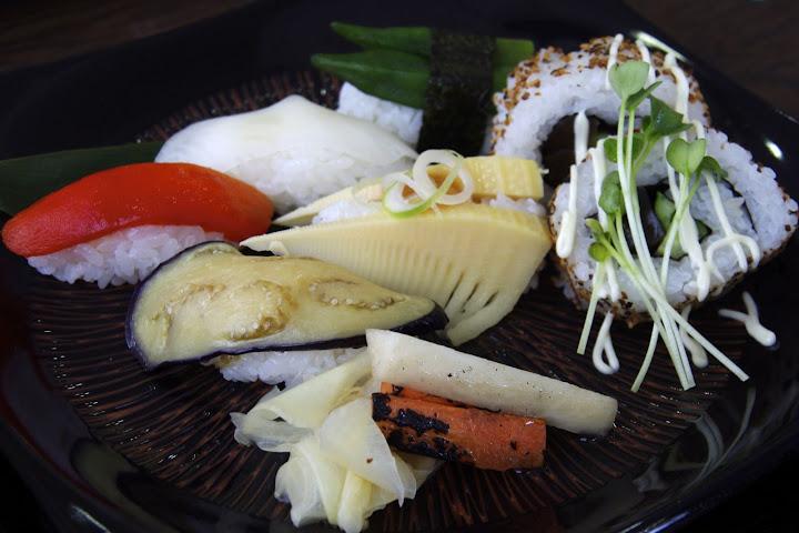 写真:熊本産タケノコの握り