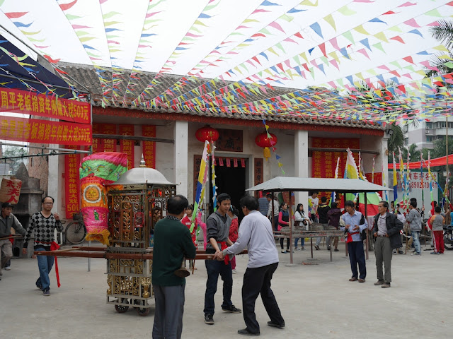 temple in Maoming, China