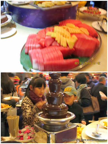 Chocolate Fountain, Bauhinia Cruise