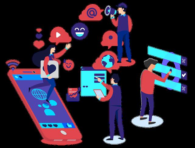 Social media advertising quảng bá sản phẩm trên mạng xã hội