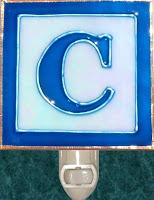 letter C Block