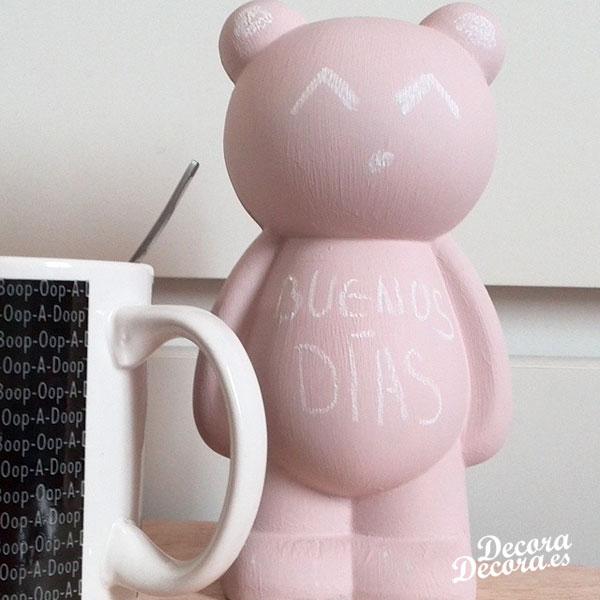 Decorativo oso para escribir mensajes