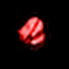碎裂的紅寶石