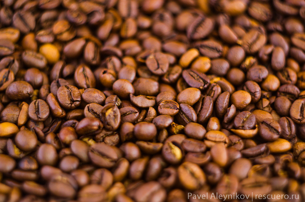 Кофе, предметная съемка