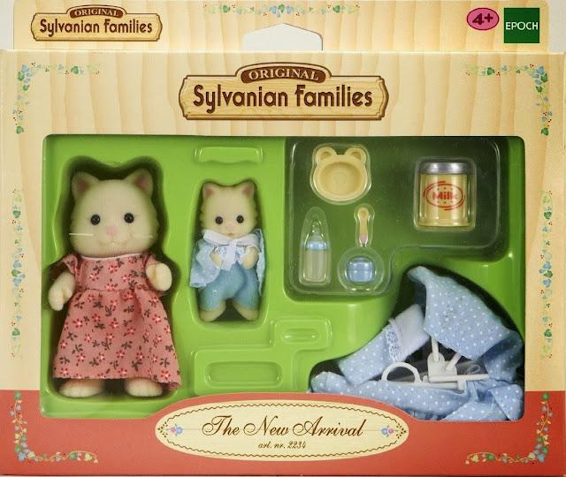Bao bì sản phẩm Bộ mèo sơ sinh và mẹ