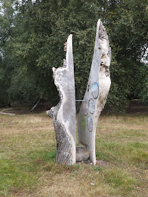 Sculpture at Thelnetham Fen