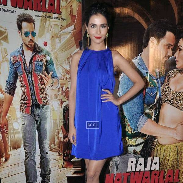 Humaima Malik during the press meet of Bollywood movie Raja Natwarlal, held at UTV Office on July 24, 2014.(Pic: Viral Bhayani)