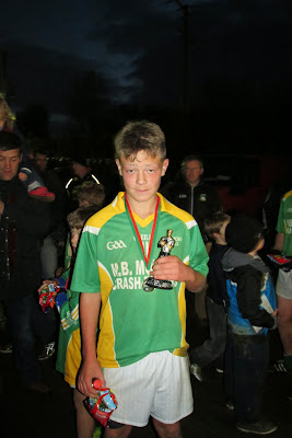 Ben McGurran, Millmore Gaels, Man-of-the-match, Jim McHugh Memorial Plate Final, 2014