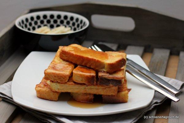 Nachgemacht: Gebackener French Toast mit Ahornsirup