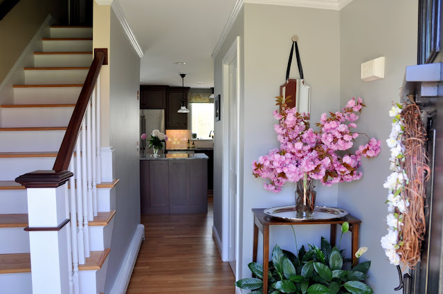 Do you get a glimpse of your kitchen from the front door?