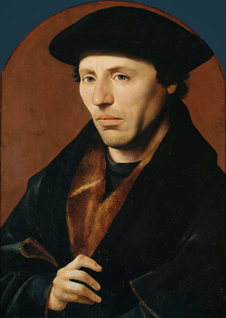 Jan van Scorel - Portrait of a Man