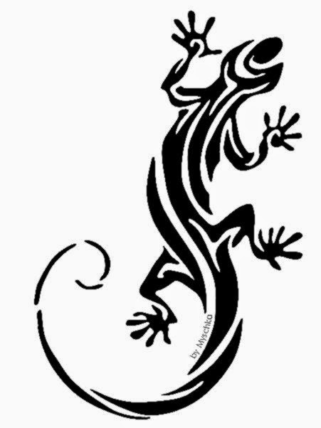 Lizard Tattoos Designs And Ideas  Page 60