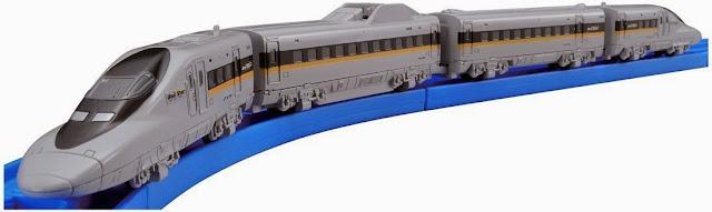 Tàu hỏa cỡ nhỏ AS-09 Series 700 Hikari Railstar thiết kế giống như thật