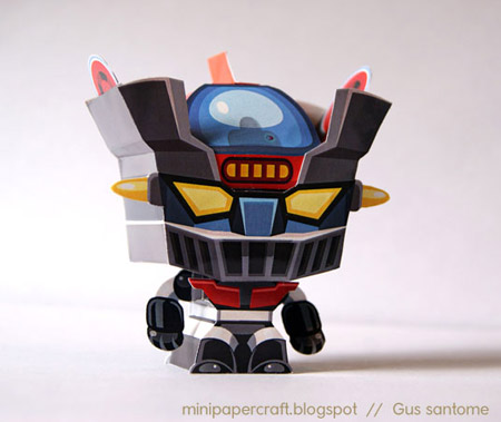 Mini Mazinger Z Papercraft