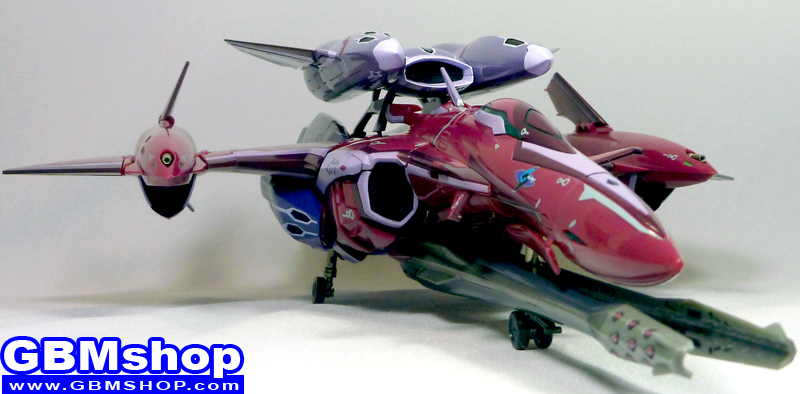 Macross Frontier VF-27 Super Lucifer Renewal Version Fighter Mode