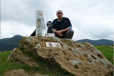Ganeroitz mendiaren gailurra 561 m.  --  2013ko maiatzaren 13an