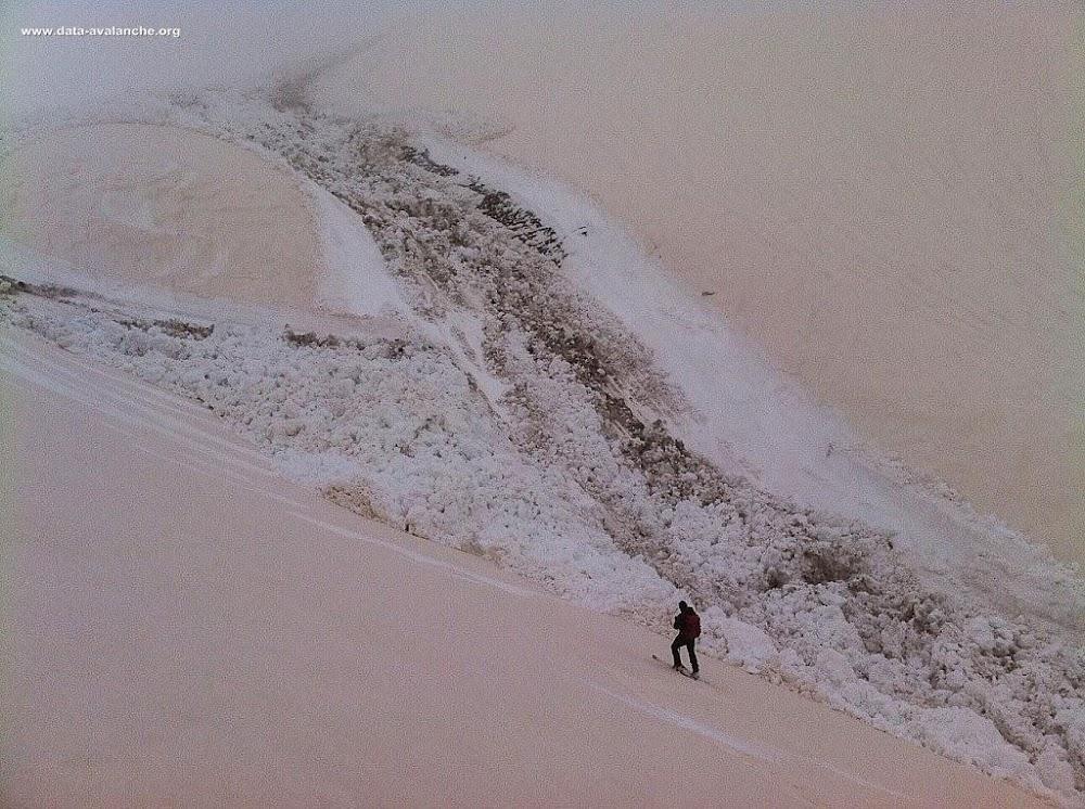 Avalanche Mercantour, secteur Monte del Chiamossero - Photo 1 - © FITZROY (skitour)