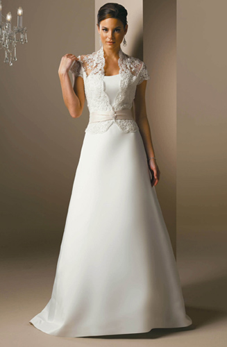 Discount Lace Jacke Hochzeitskleid - Günstige Hochzeitskleider