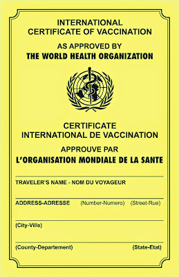 Yellow fever mandatory vaccine for kilimanjaro trek indiahikes yellow fever certificate sample yelopaper Gallery