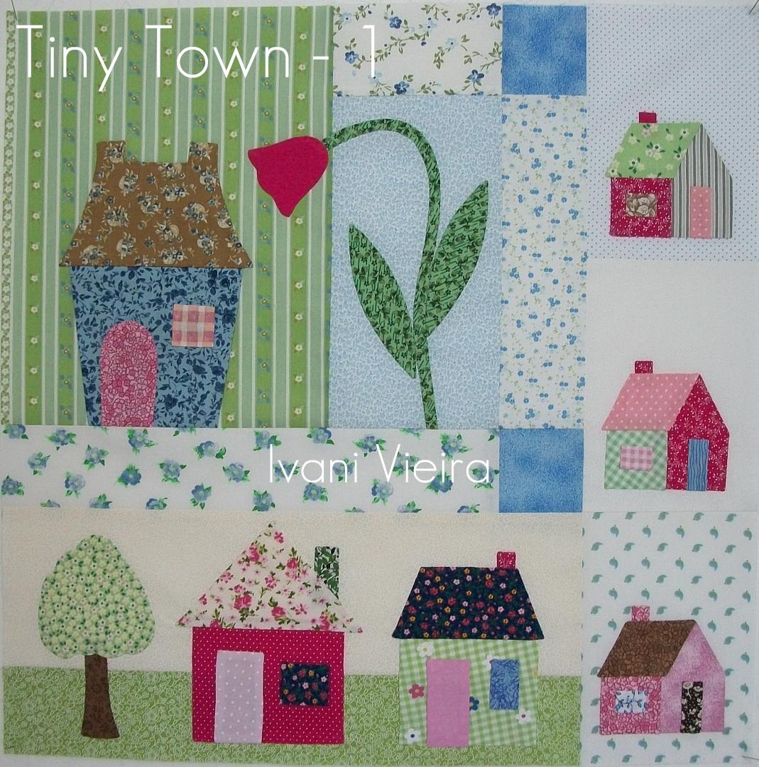 Arte em casa ivani tiny town bloco 1 e outros jogos - Casas de patchwork ...