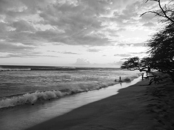 """Anini Beach - Kauai, Hawaii"" photography by Theresa Scott."