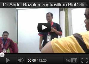 Wanita Mingguan Video BioDelima