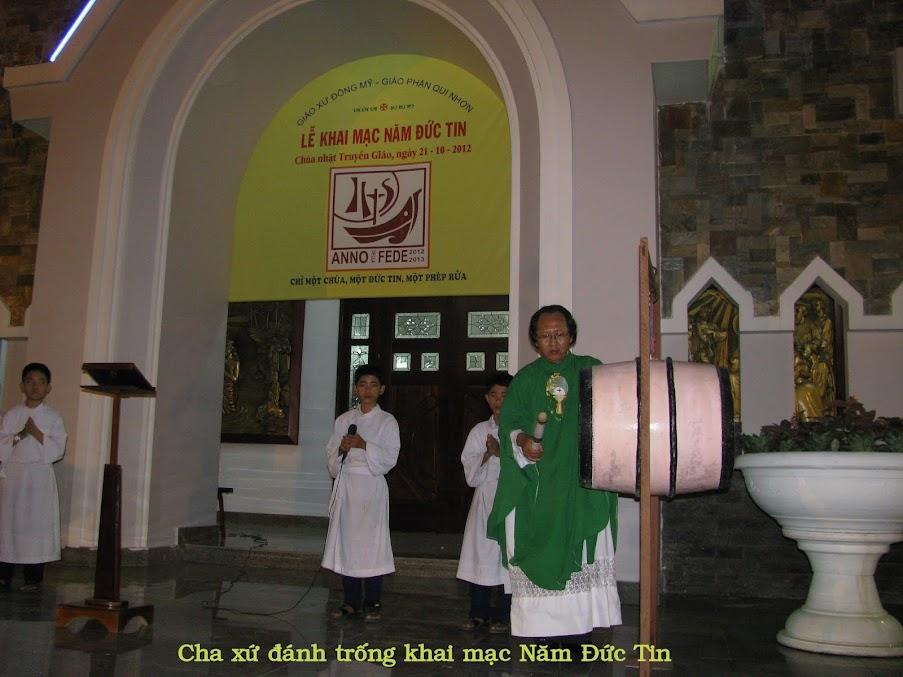 Thánh lễ Khai mạc Năm Đức Tin tại Giáo xứ Đông Mỹ