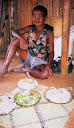 More standard food in Madagascar, and one standard detail is that it's always shared freely with guests!