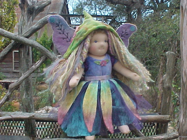 "Fairy Outfit for your 16"" Waldorf Doll"