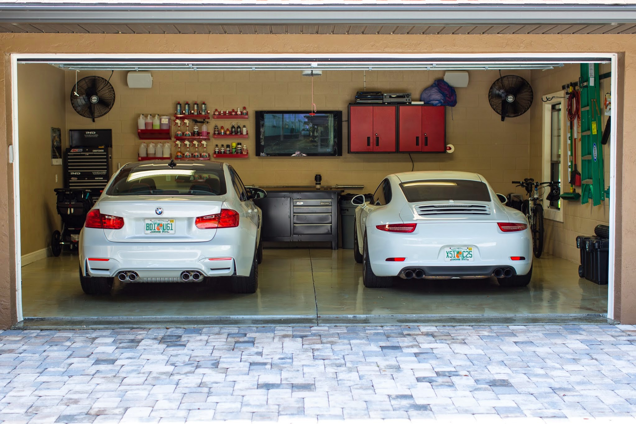 Two Car Garages My Comparison Of The 991 911 Vs F80 M3 Rennlist