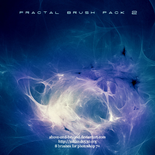 Fractal Brush Pack 02, de above and beyond