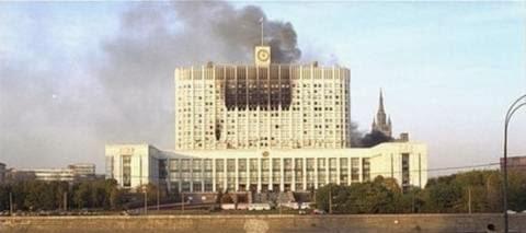 Фото: Расстрел парламента РФ