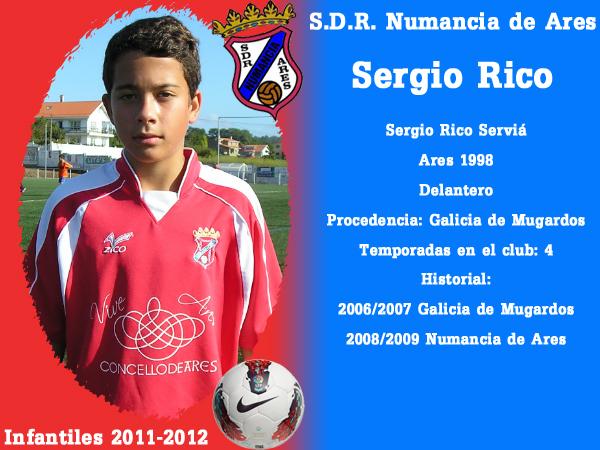 ADR Numancia de Ares. Infantís 2011.2012. SERGIO RICO.