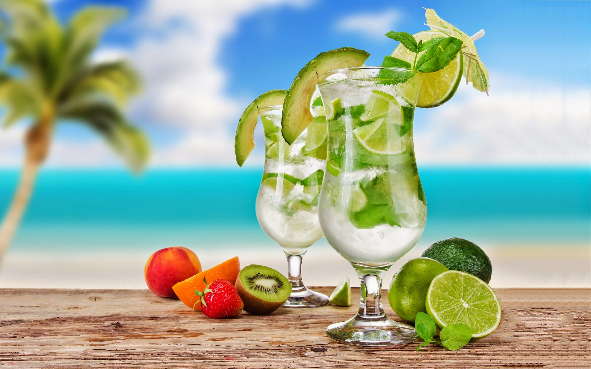 Mojito Cocktail Drink ~ Mystery Wallpaper
