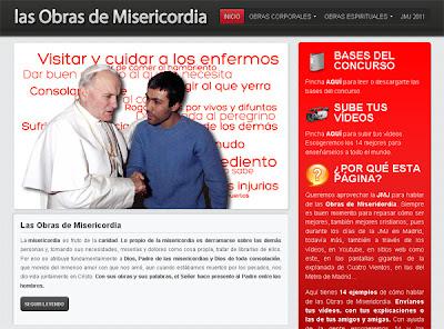 web Las Obras de Misericordia