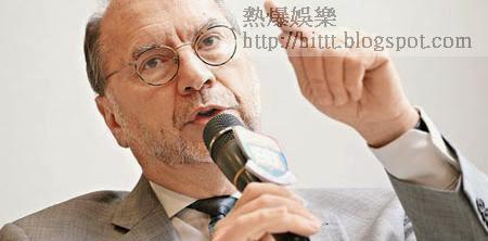 Peter Piot指愈來愈多中國人在非洲工作,病毒傳入內地風險勢增。(黃永俊攝)