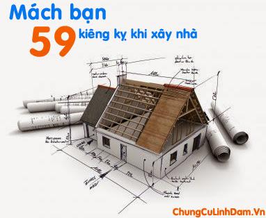 Mách bạn 59 điều kiêng kỵ khi xây dựng nhà cửa