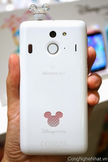 điện thoại nhật DOCOMO Fujitsu Disney Mobile F-03F