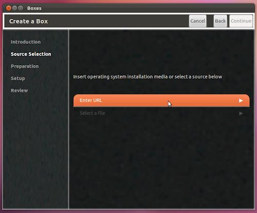 GNOME Boxes 3.3.5