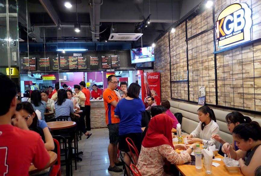 KGB Burger at Bangsar