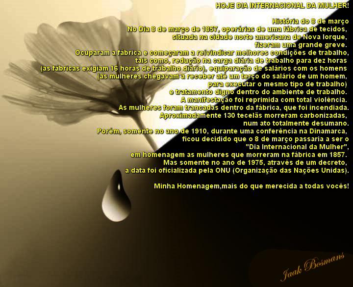 Dia 8 de Março dia internacional da Mulher!! - YouTube