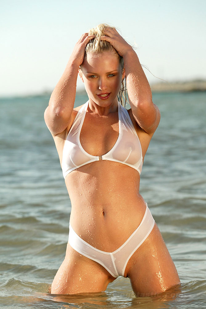 Nicky Whelan See Through Bikini Hq Pics Hot N Sexy