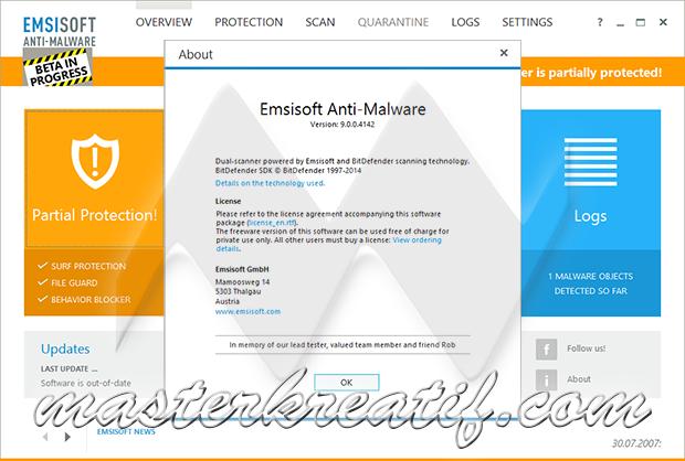 Emsisoft Anti-Malware 9.0.0