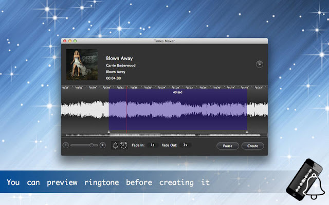 Create Ringtones for iOS Devices with Tones Maker