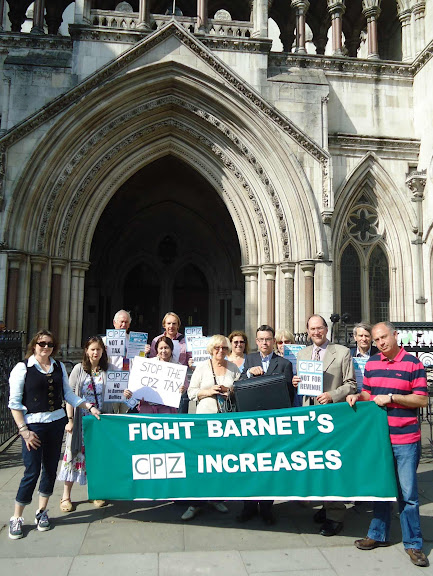Barnet residents fight against illegal price hike