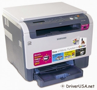 Download Samsung CLX-2160 printers driver – setting up instruction